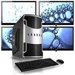 Vue VI4904 Intel Core i3 530 2.93GHz Multi-Display System - 4GB RAM, 1TB HDD, DVD+/-RW, Gigabit Ethernet