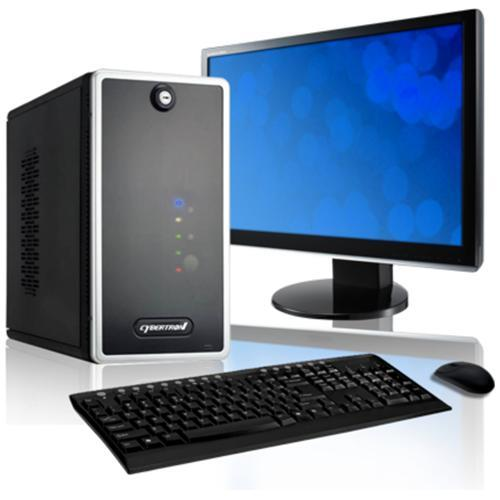 CybertronPC SwiftServ SVSJA2321 Intel Core i3-2100 3.10GHz Home Server - 8GB RAM, 3x2TB HDD, Gigabit Ethernet