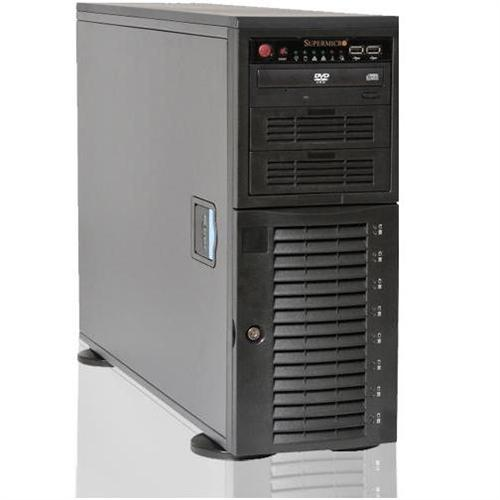 CybertronPC Magnum SVMAB1161 2x AMD Opteron Octa-Core 6128 2.0GHz Tower Server - 48GB RAM, 8x1TB HDD, DVD+/-RW Dual Layer, Gigabit Ethernet
