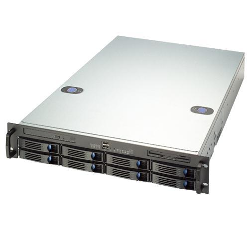 CybertronPC Magnum PCSERM2XV2080 2x Intel Xeon Xeon Quad-Core E5606 2.13GHz 2U Rackmount Server - 4GB RAM, 8x 1TB HDD, DVD+/-RW Dual Layer, Gigabit Ethernet