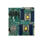 SUPERMICRO X9DRi-F - Motherboard - extended ATX - LGA2011 Socket - 2 CPUs supported - C602 - 2 x Gigabit LAN - onboard graphics