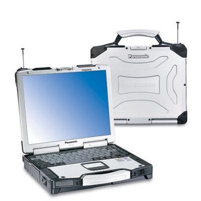 PanasonicToughbook CF29L Intel Pentium M LV 738 1.6GHz Notebook - 512GB RAM, 80GB HDD, 13.3