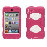 Survivor for iPod touch (4th generation)- Pink/white
