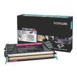 X746, X748 Magenta Return Program Toner Cartridge