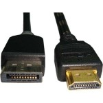 10ft HDMI to Displayport Cable Male-Male Black