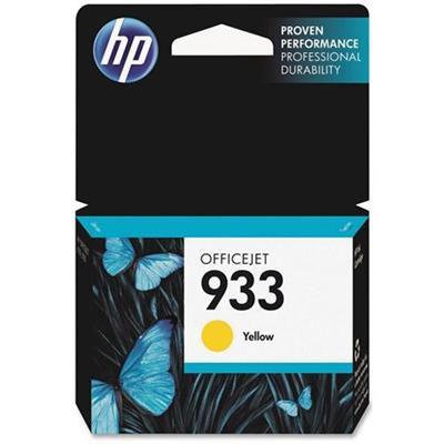 HP 933 Yellow Officejet Ink Cartridge (CN060AN#140)