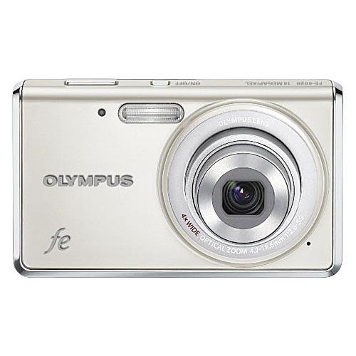 Olympus Fe-4020 14MP Digital Camera - White - Refurbished