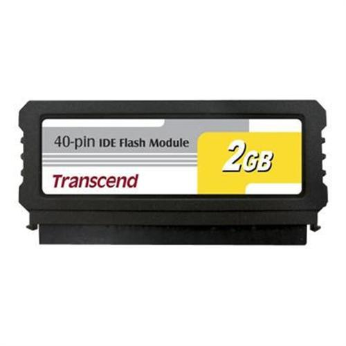 Transcend IDE Flash Module Vertical - solid state drive - 2 GB - IDE