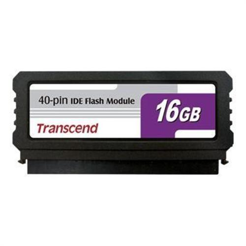 Transcend IDE Flash Module Vertical - solid state drive - 16 GB - IDE