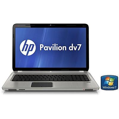 HP Pavilion dv7-6113cl AMD Quad-Core A6-3400M 1.40GHz Entertainment Notebook PC - 6GB RAM, 750GB HDD, 17.3