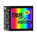 TrueColours - 1 - black, yellow, cyan, magenta, transparent - print ribbon - for P 210, 310C, 320, 400, 420, 500, 520, 600, 720
