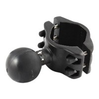 RAM Mounts RAM-D-271U-2 - Mounting component (ball and socket mount) - rubber, marine grade aluminum - black powder coat RAM-D-271U-2
