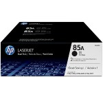 85A 2-pack Black Original LaserJet Toner Cartridges