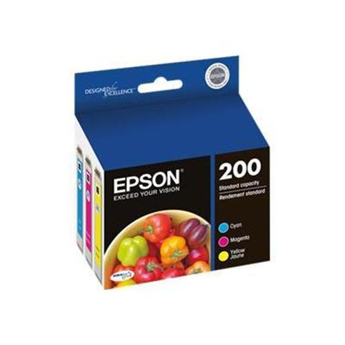 Epson 200 Multi-Pack - yellow, cyan, magenta - original - ink cartridge