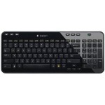 Logitech Wireless Keyboard K360 - Glossy Black - For Windows 920-004088