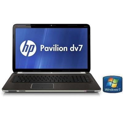HP Pavilion dv7-6163us Intel Core i7-2630QM 2.0GHz Entertainment Notebook PC - 6GB RAM, 750GB HDD, 17.3