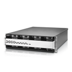 Technology W16000 - NAS server - 16 bays - rack-mountable - SATA 6Gb/s / SAS 6Gb/s - HDD - RAM 8 GB - Gigabit Ethernet - 3U