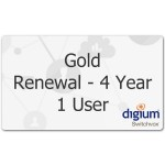 Switchvox 1 User Gold Subscription Renewal - 4 Year
