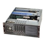 Super Micro Supermicro SC842 XTQ-R606B - Rack-mountable - 4U - extended ATX - SATA/SAS - hot-swap 600 Watt - black - USB/serial CSE-842XTQ-R606B