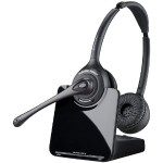Plantronics CS 520 - CS500 Series - headset - full size - wireless - DECT 6.0 - with  HL10 Handset Lifter 84692-11