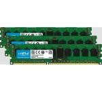 DDR3 - 16 GB : 2 x 8 GB - DIMM 240-pin - 1600 MHz / PC3-12800 - registered - ECC