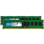 DDR3 - 16 GB : 2 x 8 GB - DIMM 240-pin - 1600 MHz / PC3-12800 - registered - ECC