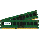 16GB Kit (8GBx2) DDR3L 1600MT/s (PC3-12800) DR x8 ECC UDIMM 240p