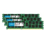 DDR3 - 48 GB : 3 x 16 GB - DIMM 240-pin - 1600 MHz / PC3-12800 - registered - ECC