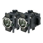 ELPLP73 - Projector lamp - UHE - 340 Watt - 2500 hour(s) (standard mode) / 3500 hour(s) (economic mode) (pack of 2) - for  EB-Z8150, Z8450, Z8455; PowerLite Pro Z8250, Pro Z8255, Pro Z8350, Pro Z8455