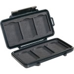 Pelican Products 0945 Memory Card - Case for memory cards - polycarbonate resin - black 0940-015-110