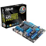 M5A99FX PRO R2.0 - Motherboard - ATX - Socket AM3+ - AMD 990FX - USB 3.0 - Gigabit LAN - HD Audio (8-channel)
