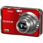 Fujifilm FinePix 14-Megapixel 5x Optical Zoom Digital Camera w/ 720p HD Movie Recording (Red) - Refurbished AX250 RED-R