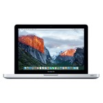"13.3"" MacBook Pro dual-core Intel Core i5 2.5GHz, 4GB RAM, 500GB 5400-rpm hard drive, SuperDrive,  Intel HD Graphics 4000, Mac OS X El Capitan - Mid 2012"