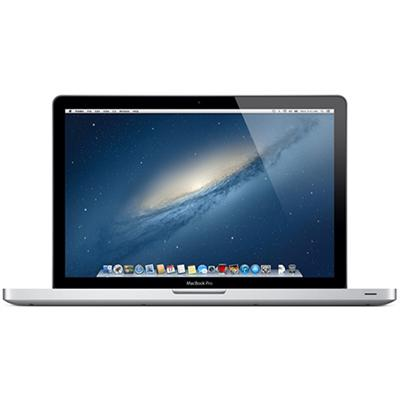 "Apple 15.4"" MacBook Pro quad-core Intel Core i7 2.3GHz, 4GB RAM, 500GB 5400-rpm hard drive, Intel HD Graphics 4000, Mac OS X Lion"