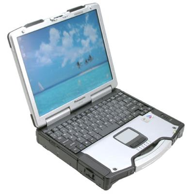 Panasonic Toughbook-29 Intel Centrino Pentium M 778 1.6GHz Notebook - 512MB RAM, 80GB HDD, 3.5