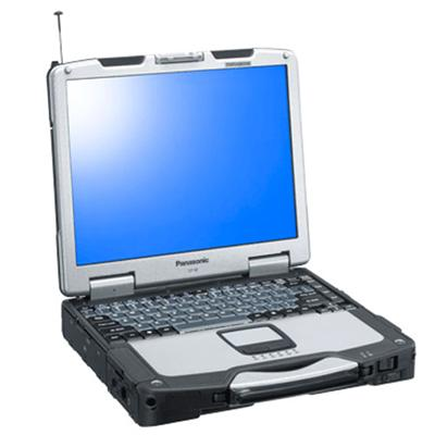Panasonic Toughbook 30 Intel Core Duo L2400 1.66GHz Notebook - 1GB DDR2 SDRAM, 80GB HDD, 13.3