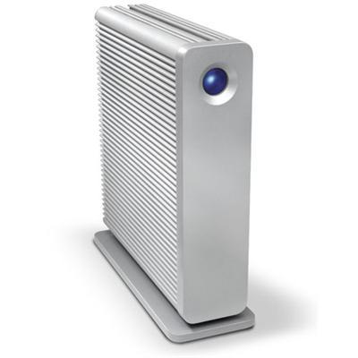 LaCie3TB d2 Quadra FireWire/USB 3.0/eSATA 7200 rpm Desktop External Hard Drive - Refurbished(301549U-R)