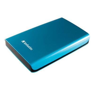 VerbatimStore 'n' Go SuperSpeed USB 3.0 Portable Hard Drive - 500GB - Blue(97657)