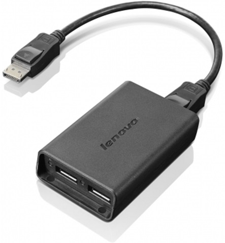 Lenovo DisplayPort to Dual-DisplayPort Adapter