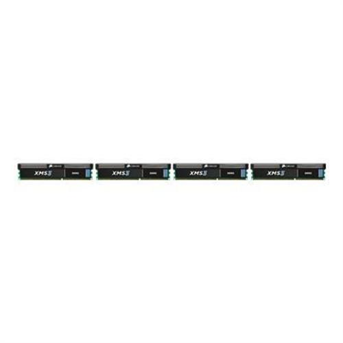 Corsair Memory XMS3 - DDR3 - 32 GB : 4 x 8 GB - DIMM 240-pin - 1333 MHz / PC3-10600 - CL9 - 1.5 V - unbuffered - non-ECC