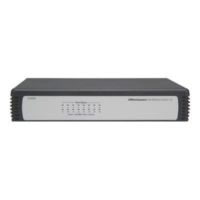 HP 1405-16 Desktop Switch - switch - 16 ports - unmanaged - desktop (JD858A)