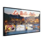 """UltraLux Series LUX80 - 80"""" Class LED display - digital signage - 1080p (Full HD) - edge-lit - white"""