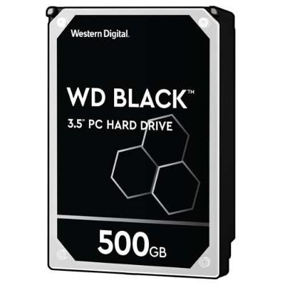WDWD Black WD5003AZEX - hard drive - 500 GB - SATA 6Gb/s(WD5003AZEX)