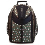 "Express Backpack 16"" Eco-Friendly - Green Dots"