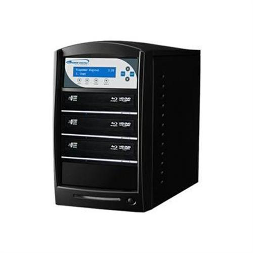 VinpowerDigital SharkBlu BLU-RAY CD DVD Duplicator - 3 Target - BD duplicator