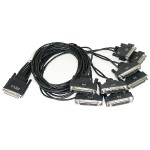 8-port DTE DB-25M Fan-out Cable