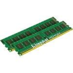 Kingston ValueRAM - DDR3 - 16 GB : 2 x 8 GB - DIMM 240-pin - 1600 MHz / PC3-12800 - CL11 - 1.5 V - unbuffered - non-ECC KVR16N11K2/16