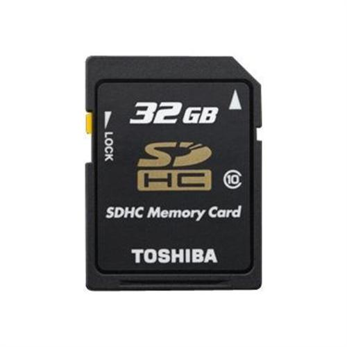 Toshiba flash memory card - 32 GB - SDHC