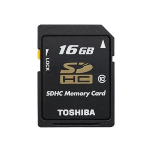 Toshiba flash memory card - 16 GB - SDHC