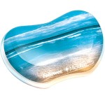 Fellowes Photo Gel Sandy Beach - Wrist rest - multicolor 9179501